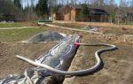 Отвод излишней воды с участка