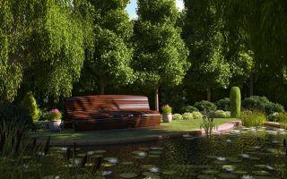 Дизайн участка загородного дома 15 соток — варианты с фото