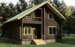 Интересные проекты деревянных домов из бревна