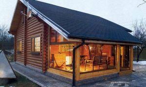 Интересные проекты деревянных домов из бруса