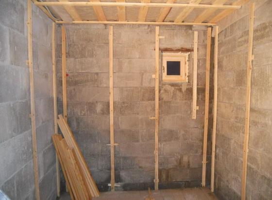 Утепление бани изнутри - схема для небольшой деревянной бани 1