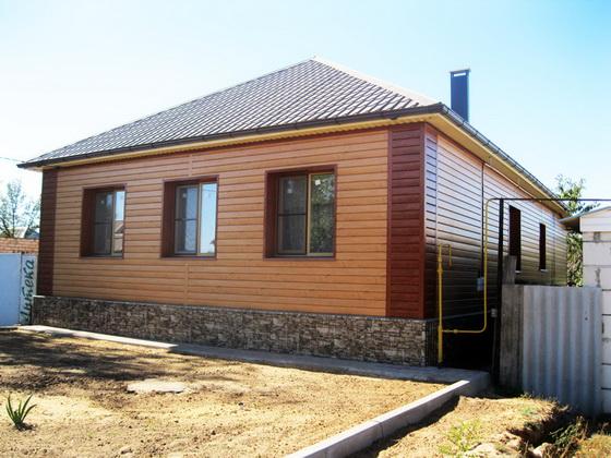 Размеры и характеристики имитации бруса для фасада частного дома 5