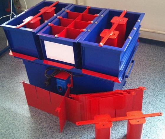 Простое оборудование для производства керамзитобетонных блоков своими руками 1