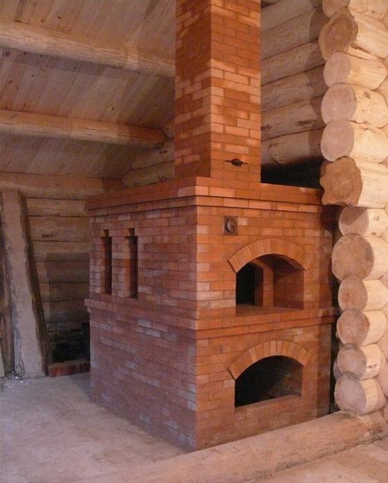 Печное отопление в деревянном доме - как правильно обустроить 2