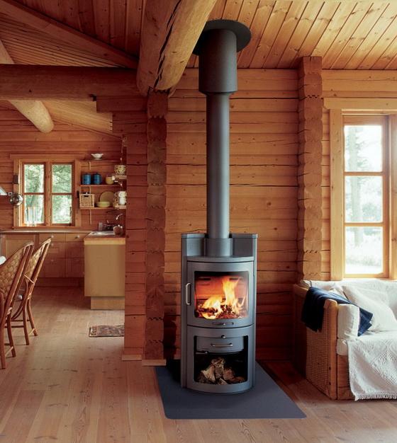 Печное отопление в деревянном доме - как правильно обустроить 3