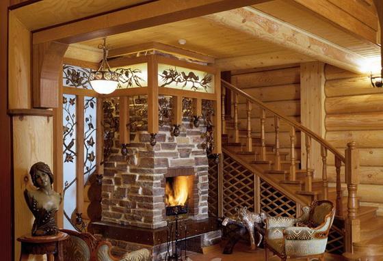 Печное отопление в деревянном доме - как правильно обустроить 4