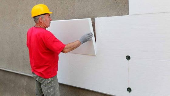 Правильное утепление стен пенополистиролом - шаг за шагом 2