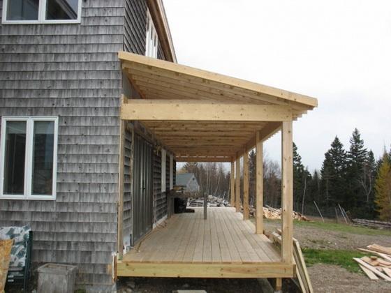 Пристрой к деревянному дому - все варианты пристроек 2