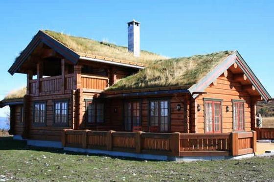 Интересные проекты деревянных домов из бревна 4