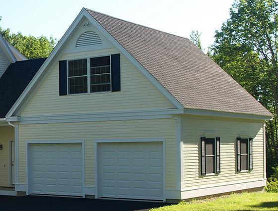 Выбираем проекты деревянных одноэтажных домов с односкатной и двухскатной крышей 5