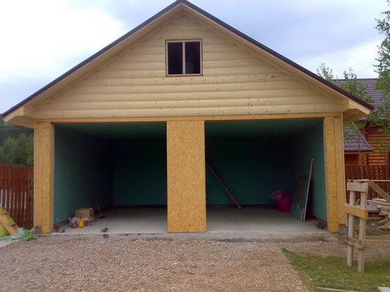 Пошаговое руководство строительства гаража из сэндвич панелей - от А до Я 1
