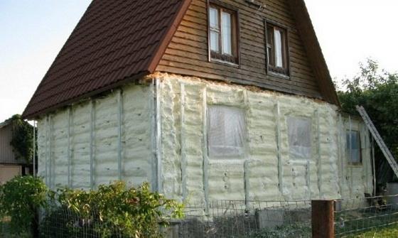 Как утеплить деревянный дом снаружи - пошаговое руководство 4