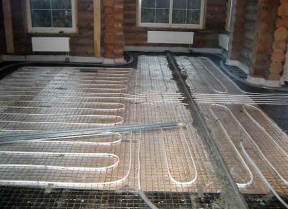 Утеплитель под теплый пол - водяной и электрический варианты теплого пола 5