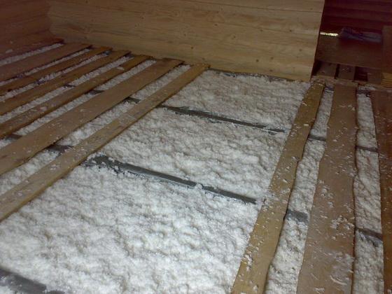Как утеплить пол в деревянном доме, чтобы было тепло 2