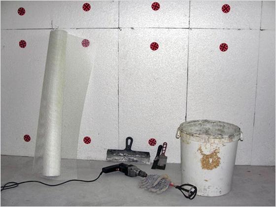 Утепление пенопластом стен изнутри - размеры теплоизоляции для стен в квартире 1