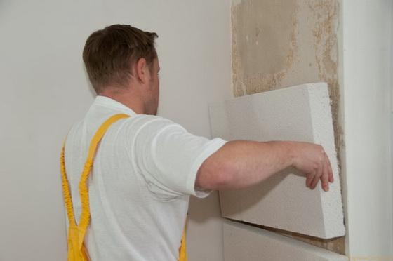 Утепление пенопластом стен изнутри - размеры теплоизоляции для стен в квартире 3