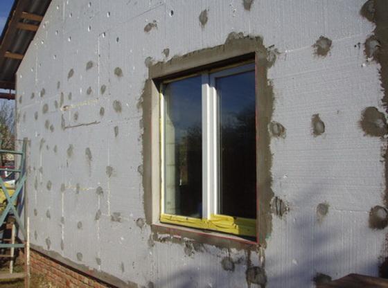 Утепление дома снаружи пенопластом - отзывы по утеплению стен из пеноблоков и керамзитобетонных блоков 2