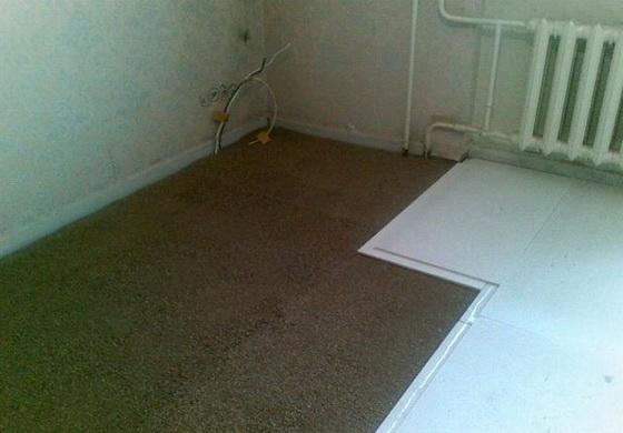 Утеплитель для пола по бетону - правильное утепление пола пенопластом под стяжку 2