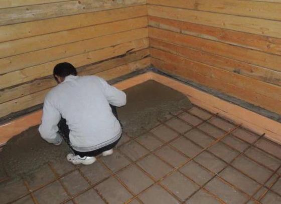 Утеплитель для пола по бетону - правильное утепление пола пенопластом под стяжку 5