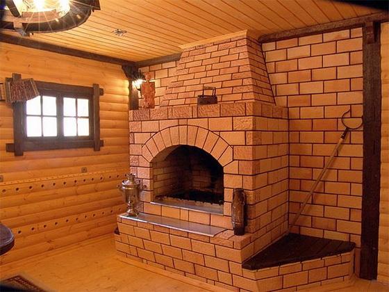 Дровяные чугунные печи-камины для дачи длительного горения 3