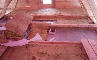 Правильное утепление потолка в бане минватой своими руками — от А до Я