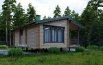 Выбираем проекты деревянных одноэтажных домов с односкатной и двухскатной крышей