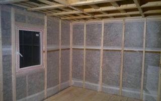 Пароизоляция для стен деревянного, кирпичного или каркасного дома