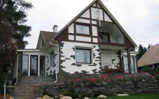 Фасады экологичных домов