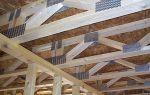 Как защитить деревянные балки от гниения