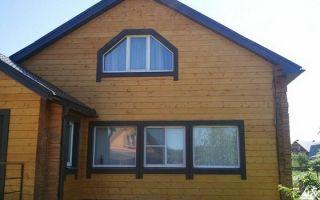 Размеры и характеристики имитации бруса для фасада частного дома