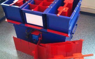 Простое оборудование для производства керамзитобетонных блоков своими руками