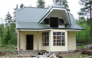 Экологичные проекты частных домов из сэндвич панелей