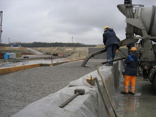 В бетоне превышен уровень вредных