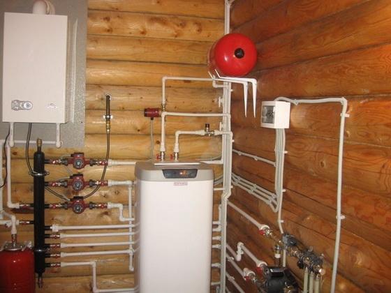Отопление деревянного дома – возможные варианты 1