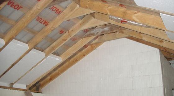 Теплоизоляция крыши от жары – можно ли утеплять крышу дома пенопластом 1