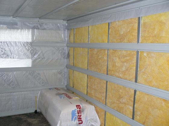 Утепление бани изнутри - схема для небольшой деревянной бани 3