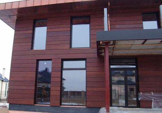 Размеры и характеристики имитации бруса для фасада частного дома 2