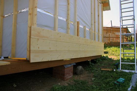 Размеры и характеристики имитации бруса для фасада частного дома 4