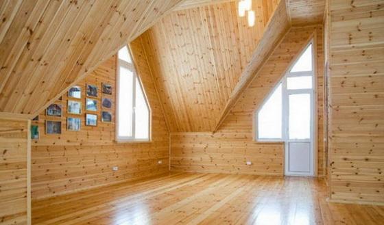 Интерьер деревянного дома внутри - используем экологичные материалы 4