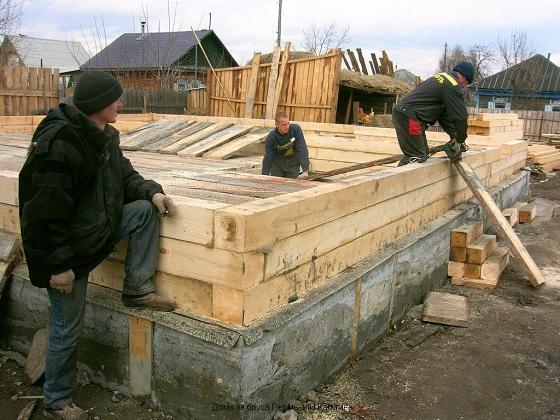 Интересные проекты деревянных домов из бруса 4