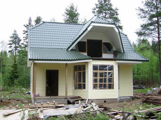 Экологичные проекты частных домов из сэндвич панелей 1