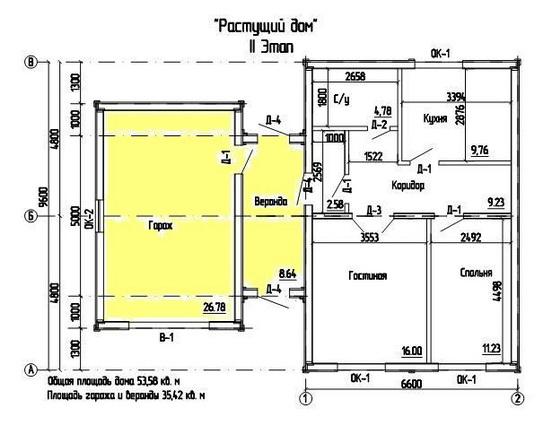 Экологичные проекты частных домов из сэндвич панелей 4