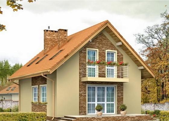 Выбираем проекты деревянных одноэтажных домов с односкатной и двухскатной крышей 4