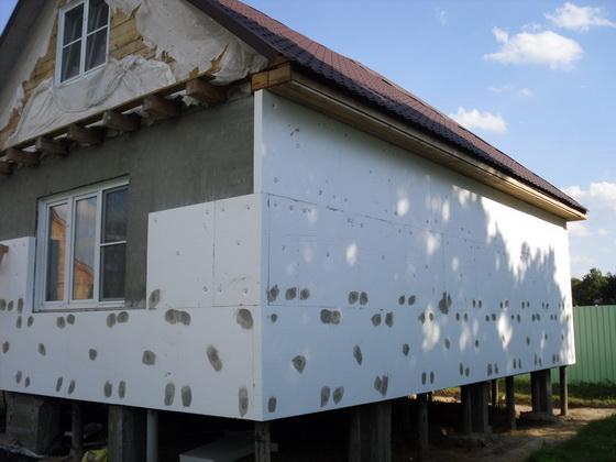 Современная теплоизоляция для стен частных домов 1
