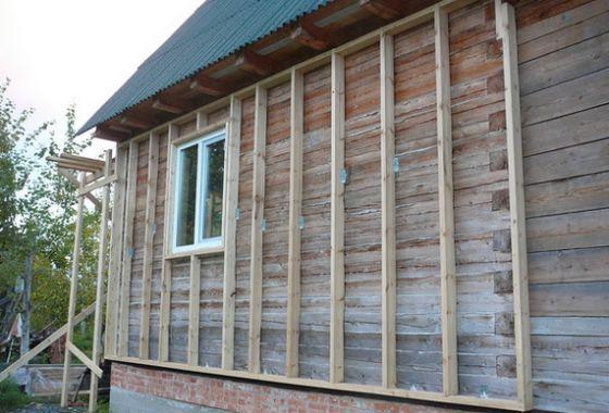 Как утеплить деревянный дом снаружи - пошаговое руководство 1