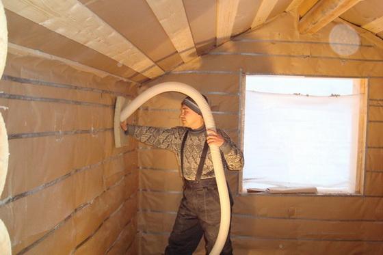 Звукоизоляция стен в деревянном доме своими руками