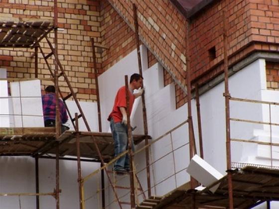 Отделка фасадов декоративной штукатуркой фото