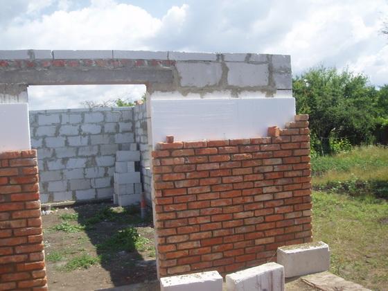 Утепление наружных стен кирпичного дома пеноплексом и пенопластом - отзывы строителей 1