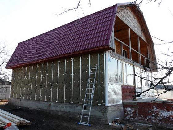 Варианты утепления фасада дома - монтируем сайдинг своими руками с утеплением 3