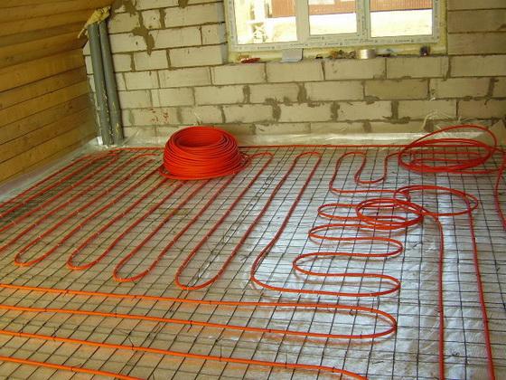 Утеплитель под теплый пол - водяной и электрический варианты теплого пола 3
